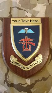 Combined Operations Personalised Military Wall Plaque V2